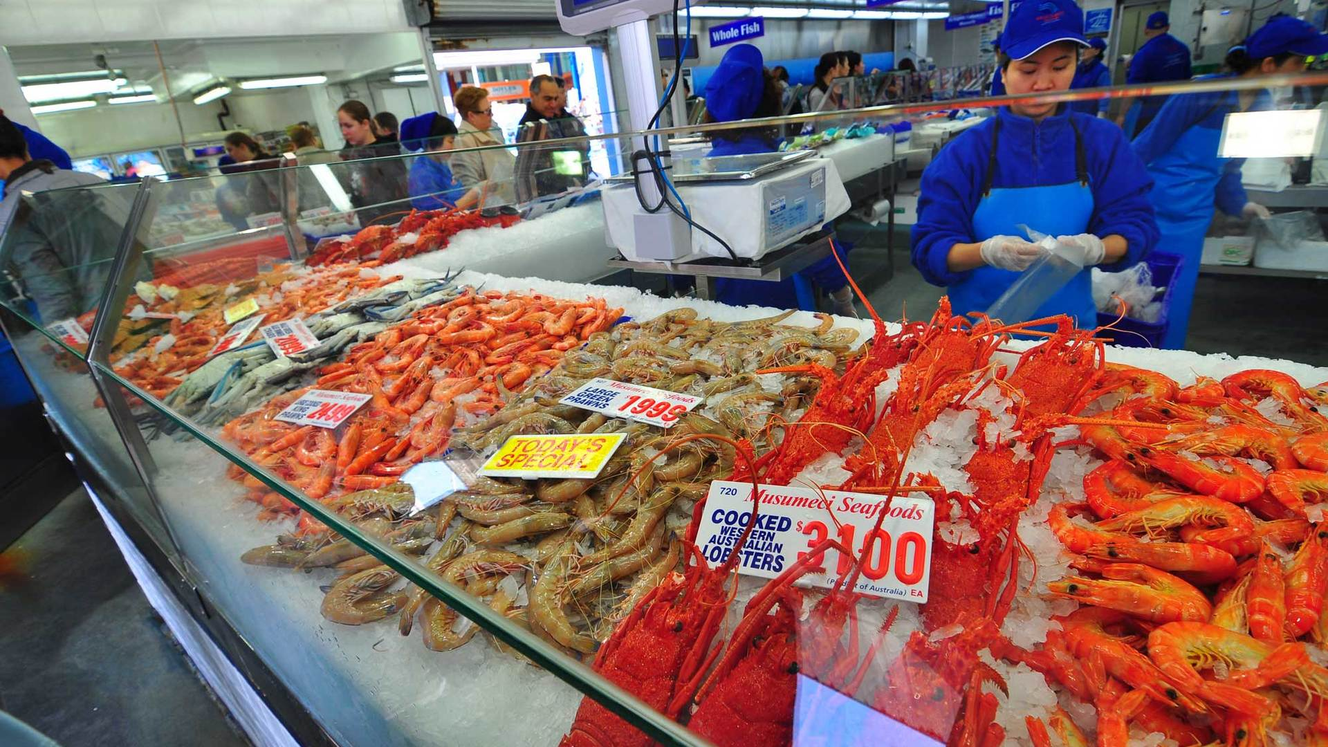 Behind-The-Scenes At Sydney's Fish Market With Red Claw Seafood
