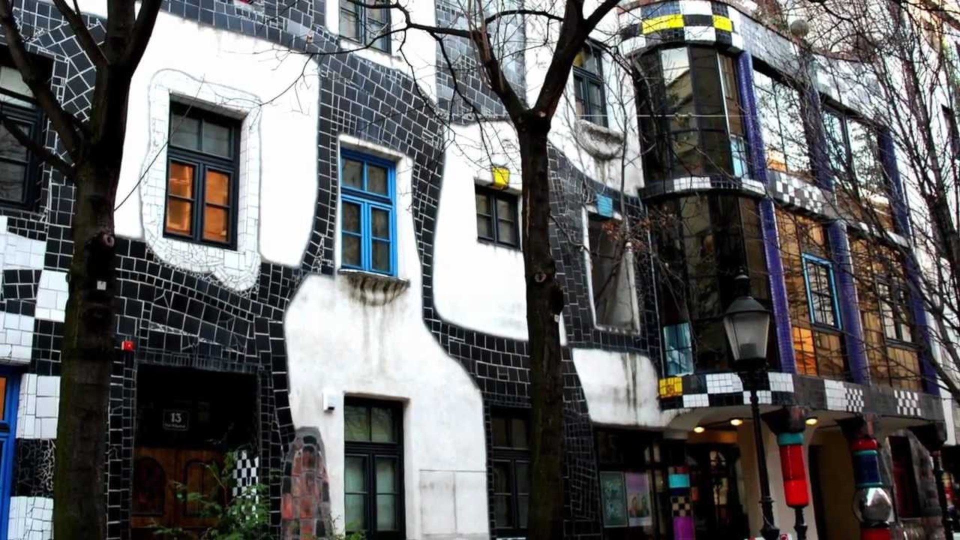 Bettering The World One Multi-Colored Building At A Time - Hundertwasser's Vienna