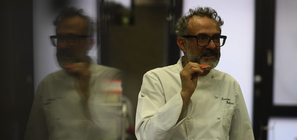 Chef Massimo Bottura On Self-Doubt, Breaking Rules and Keeping The Door Open For The Unexpected