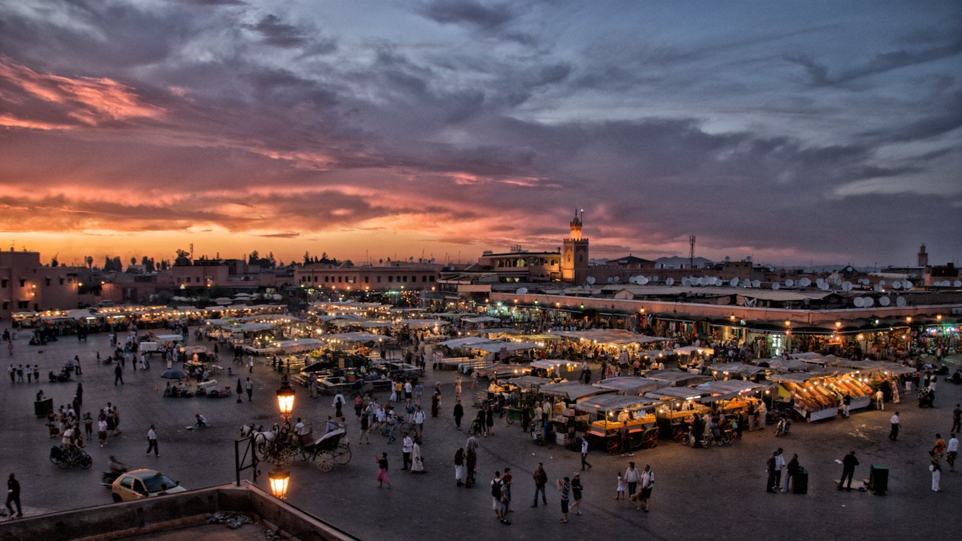 Finding Calm In The Madness Of Marrakesh