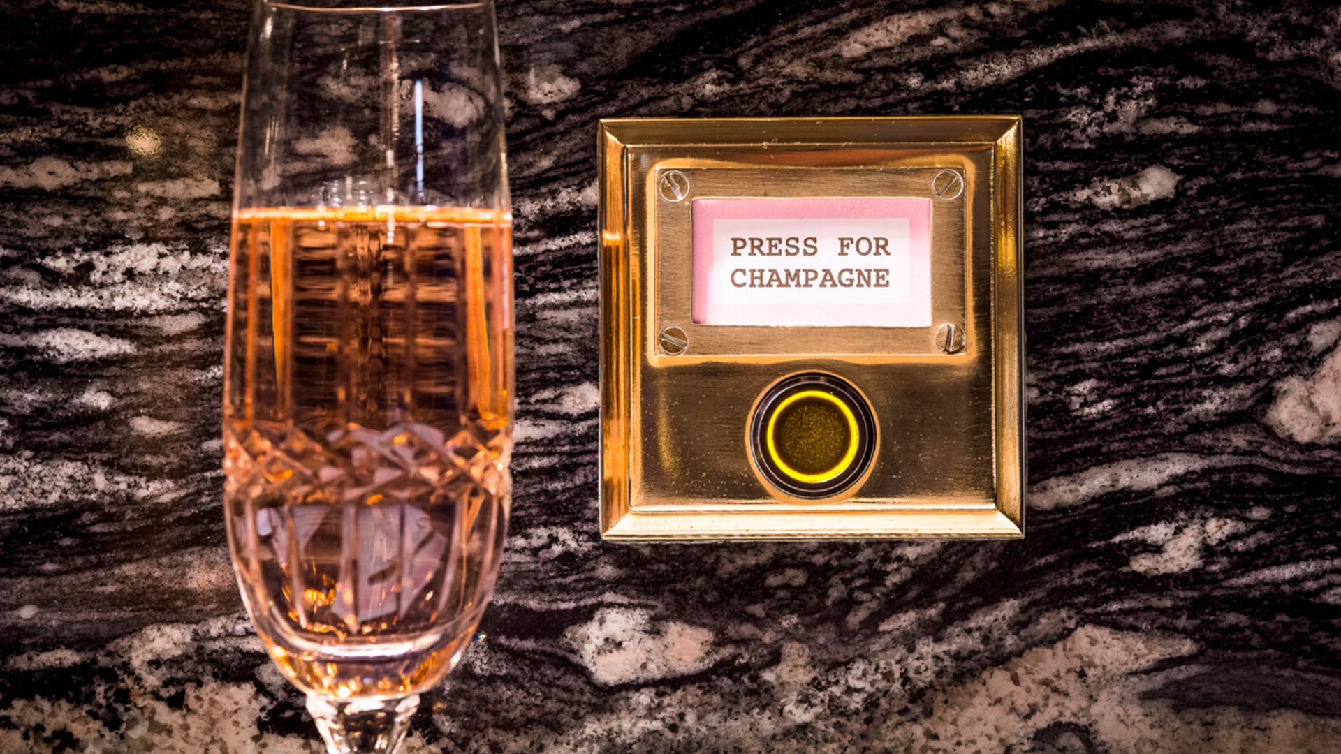 There's A London Restaurant With A 'Press for Champagne' Button At Every Table