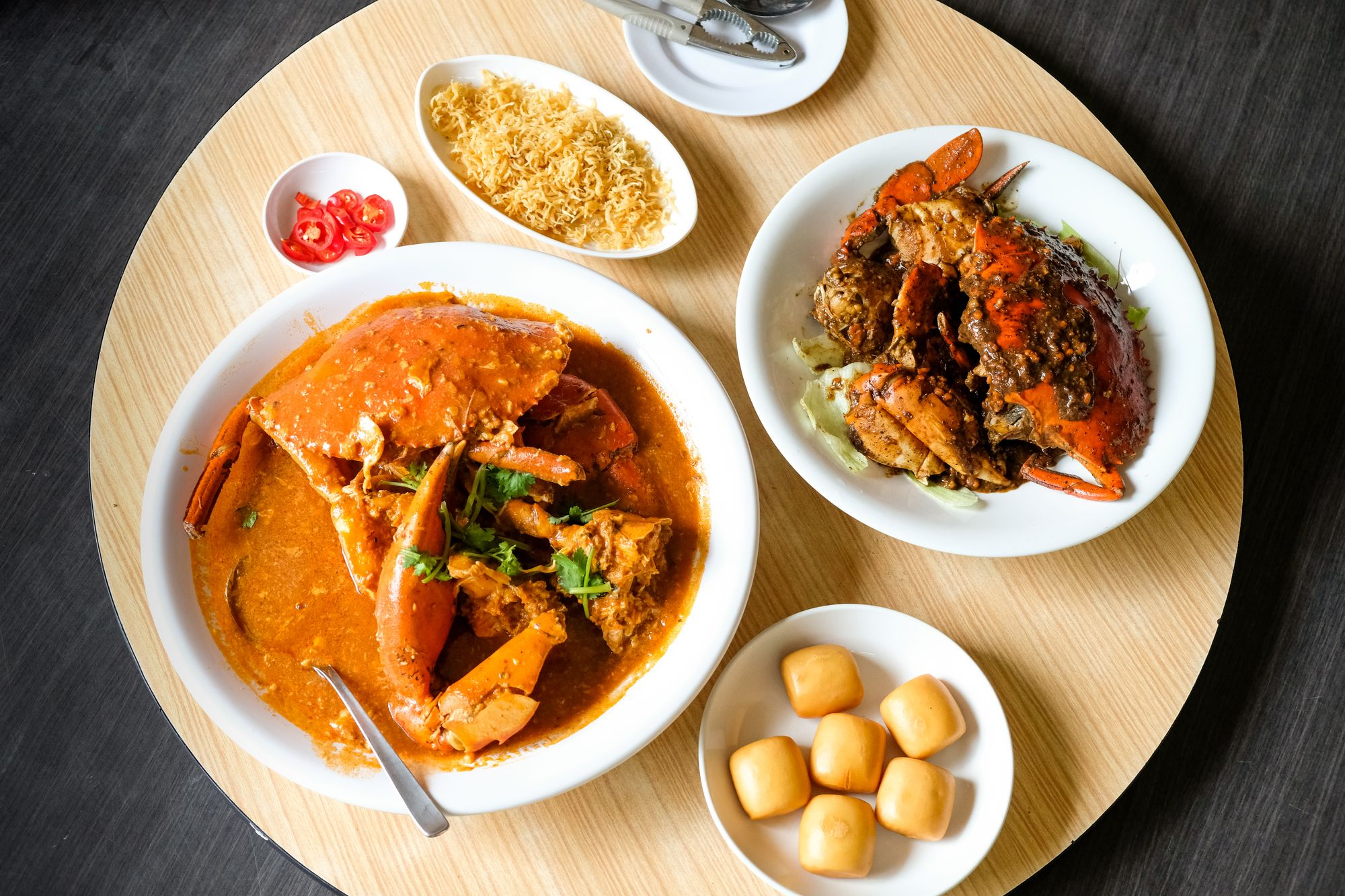 A Divisive But Delicious Question In Singapore: Chicken Rice Or Chili Crab?