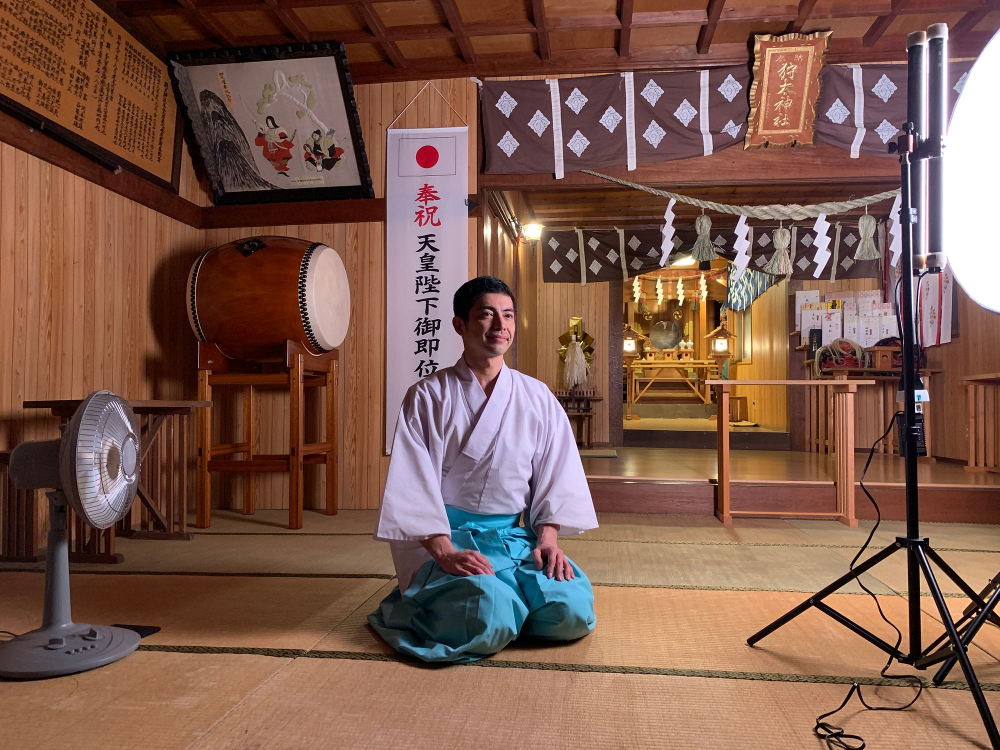 Meet The Male Host-Turned-Shinto Priest On A Mission To Spread Japanese Culture